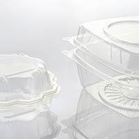 Thermoforming machines for the clamshell packaging production