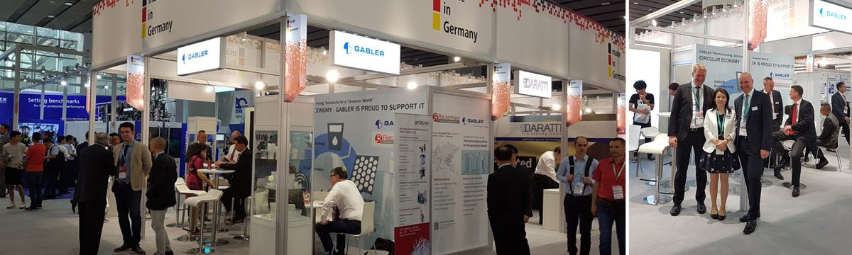 GABLER Thermoform at the Chinaplas 2019.